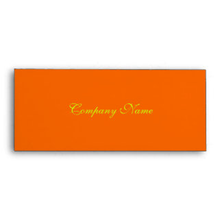 Gift Certificate Envelope.orange sunset Envelope