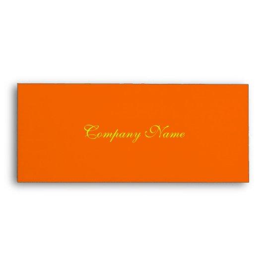 gift certificate envelope orange sunset envelope zazzle com