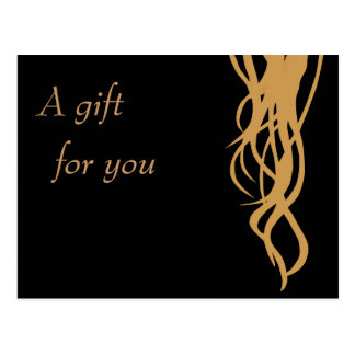 Gift Certificate Postcard