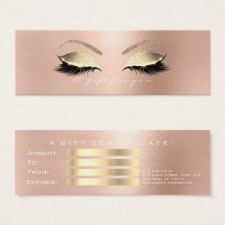 makeup gift certificate template