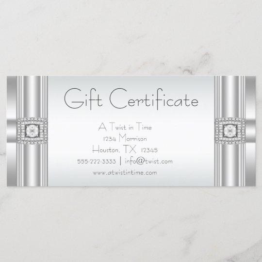 gift certificates business gift certificates zazzle com