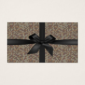 Gift Certificates Modern Gold Glitter Luxury