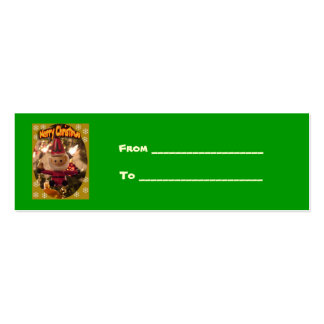 Gift Christmas card Double-Sided Mini Business Cards (Pack Of 20)