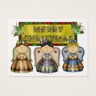 Gift Christmas Enclosure Card / Tag - Angel - SRF