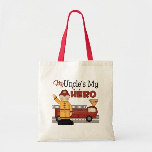 Gift de tío Firefighter Children's Bolsa Tela Barata