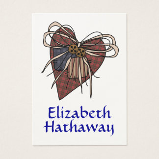 Gift Enclosure Card - Heart - by SRF