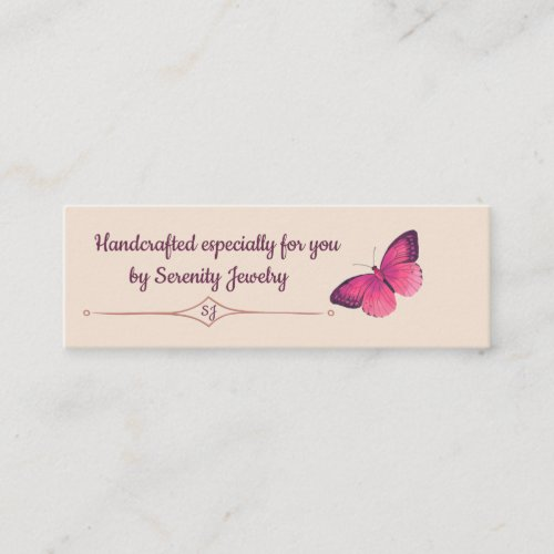 Gift Enclosure for Handcrafted Gifts Mini Business Card