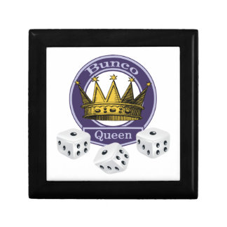 Gift Fit For A Bunco Queen Gift Box