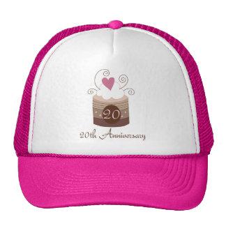 Gift For 20th Wedding Cute Cupcake Trucker Hat