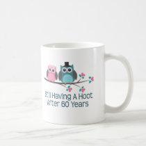 Gift For 60th Wedding Anniversary Hoot Coffee Mug