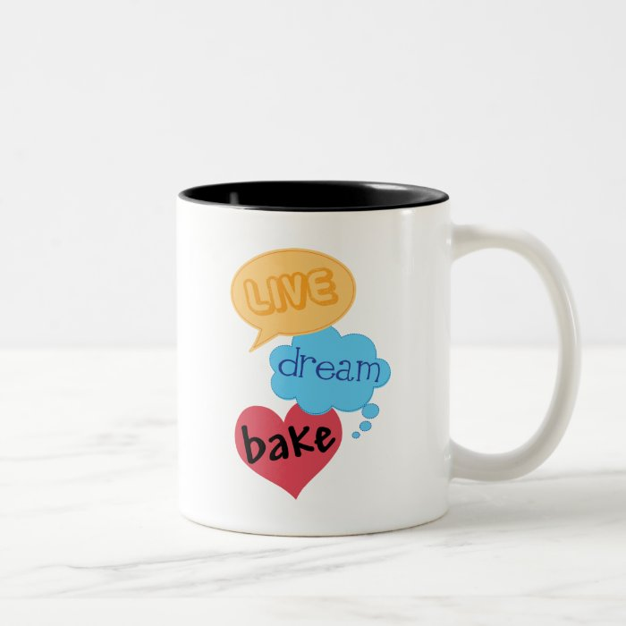 Gift for Baker Two-Tone Coffee Mug