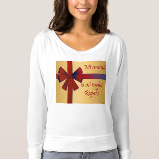 """gift for breast: """"my mother is my better gift """" t-shirt"""