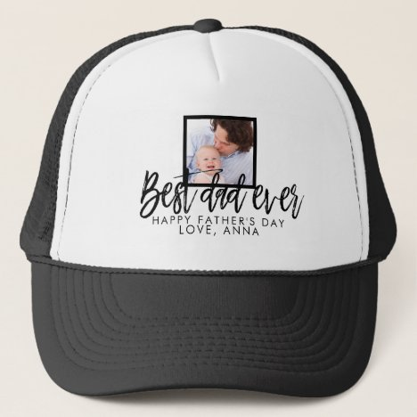 Gift for Dad Fathers Day Personalized Trucker Hat