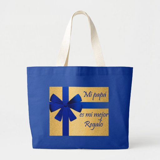 Gift for father tote bags