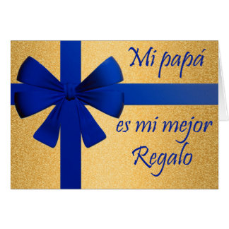 Gift for father greeting card