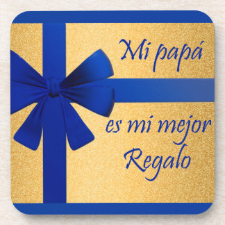 Gift for father drink coaster