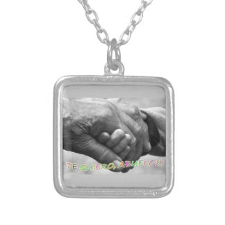 """Gift for grandfathers, """"I love grandfathers to You Necklace"""