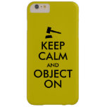Gift for Lawyer Attorney Judge Law Student or Prof Barely There iPhone 6 Plus Case