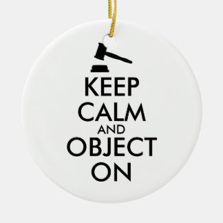 Gift for Lawyer Attorney Judge Law Student or Prof Ceramic Ornament