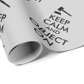 Gift for Lawyer Attorney Judge Law Student or Prof Wrapping Paper