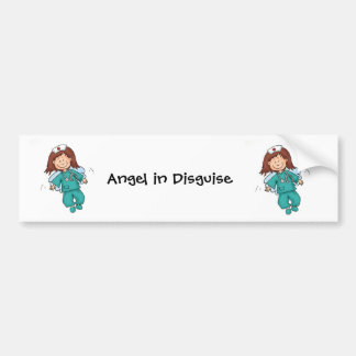 Gift for Nurse - Personalize with Name Bumper Sticker
