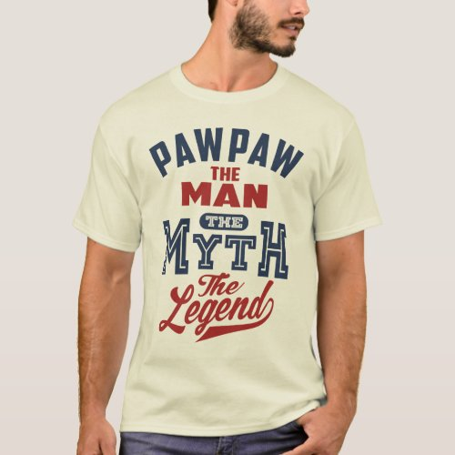 Gift for Paw Paw T_Shirt
