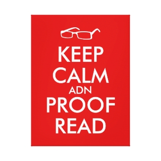Gift for Writers Keep Calm and Proofread