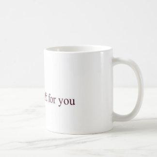 Gift for you classic white coffee mug