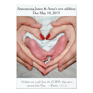 Gift from the Lord ~ Pregnancy Announcement