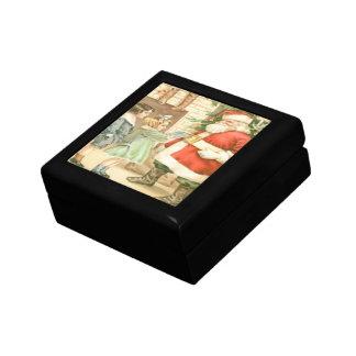 Gift Giving Santa Gift Box