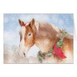 Gift Horse Christmas Card