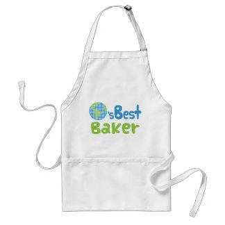 Gift Idea For Baker (Worlds Best) Adult Apron