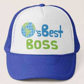 Gift Idea For Boss (Worlds Best) Trucker Hat