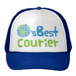 Gift Idea For Courier (Worlds Best) Trucker Hat