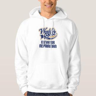 Gift Idea For Elevator Repairman (Worlds Best) Hoodie