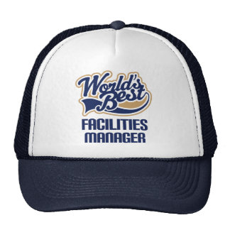 Gift Idea For Facilities Manager (Worlds Best) Trucker Hat
