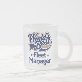 Gift Idea For Fleet Manager (Worlds Best) Mugs