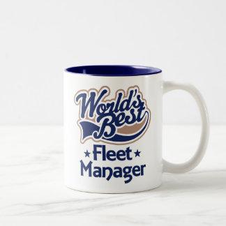 Gift Idea For Fleet Manager (Worlds Best) Mug
