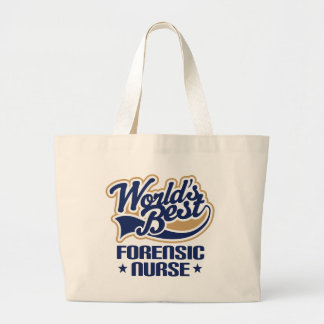 Gift Idea For Forensic Nurse (Worlds Best) Tote Bag