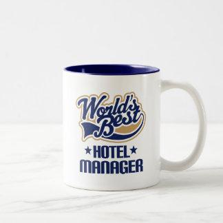 Gift Idea For Hotel Manager (Worlds Best) Mug