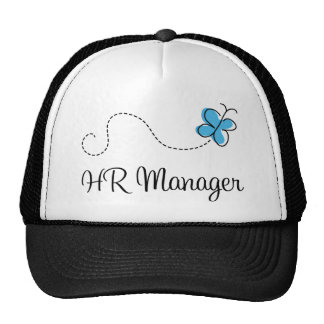 Gift Idea For Hr Manager (Butterfly) Trucker Hat
