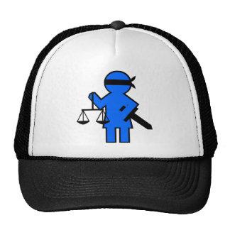 Gift idea for lawyer mesh hat