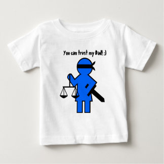 Gift idea for lawyer infant t-shirt