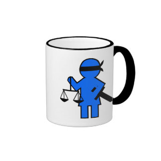 Gift idea for lawyer ringer coffee mug