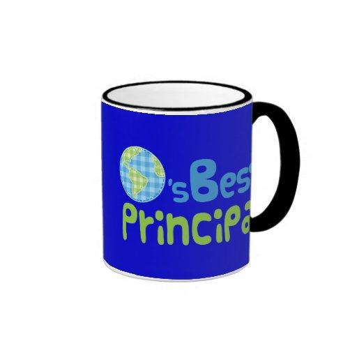 Gift Idea For Principal (Worlds Best) Mug