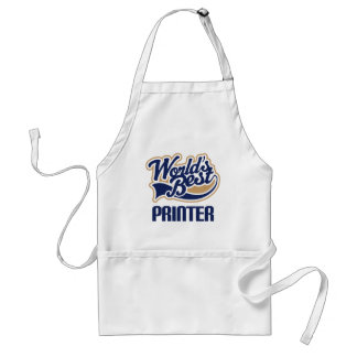 Gift Idea For Printer (Worlds Best) Adult Apron