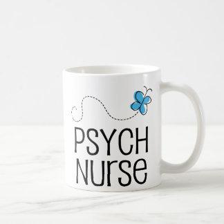 Gift Idea For Psych Nurse (Butterfly) Mug