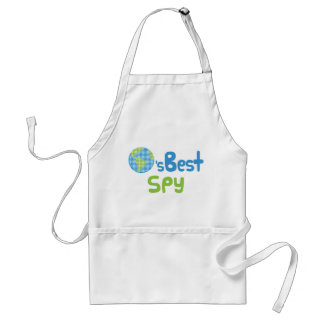 Gift Idea For Spy (Worlds Best) Aprons