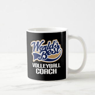 Gift Idea For Volleyball Coach (Worlds Best) Coffee Mug