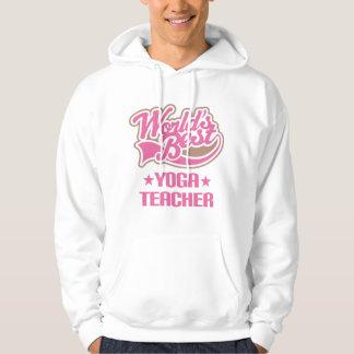 Gift Idea For Yoga Teacher Women (Worlds Best) Hoodie